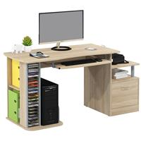 Computer Desk Oak wooden look S-202A/1845