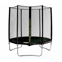 SixJump 6FT 1,85 M Garden Trampoline Black TS185/1923