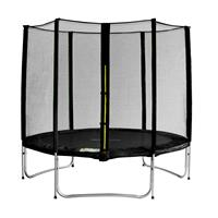 SixJump 8FT 2.45 M Garden Trampoline Black  TS245/1928