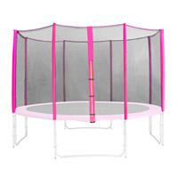Spare safety net pink for garden trampoline 6FT 15FT different sizes SN-ON/1951