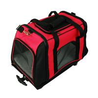 Pet Trolley Carrying case for dogs Red/Black 10081/2004