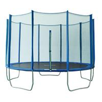 SixJump 11.9FT 3,65 M Blue Polygon Garden Trampoline PB365/2051