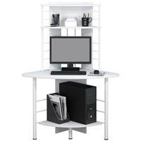 Bureau informatique blanc B-1010/2076