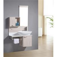 Set mobile da bagno - arredo bagno Dublin quercia effetto legno - M-70105/2090