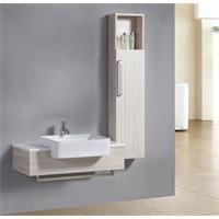 Mobile da bagno Set Riga quercia effetto legno M-70116/2091