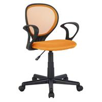 Chaise de bureau orange  H-2408F/2114