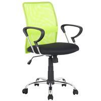 Chaise de bureau pivotante vert/noir H-8078F-2/2118