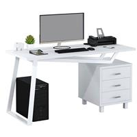Bureau Informatique très brillant blanc CT-3533/2181