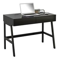 Bureau Informatique très brillant nero CT-3534A/2185