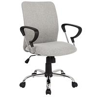 Office Swivel Chair Grey H-8078F-2/2475