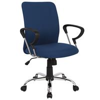 Office Swivel Chair Blue H-8078F-2/2476