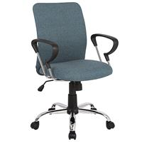 Office Swivel Chair Dark Grey H-8078F-2/2477