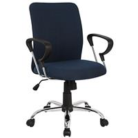 Office Swivel Chair Dark Blue H-8078F-2/2478