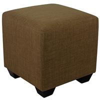 Padded Pouffe/Footstool Brown 2001A/2485