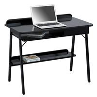 Computer Desk Office Desk High Gloss Black CT-3581/4464