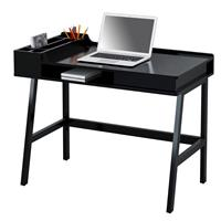 Computer Desk Office Desk High Gloss Black CT-3582/4467