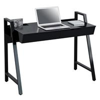 Computer Desk Office Desk High Gloss Black CT-3583N/4470