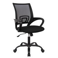 Sedia ufficio sedia girevole nera 1411F-1/8400