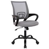 Bürostuhl Drehstuhl Schreibtischstuhl Grau 1411F-1/8401
