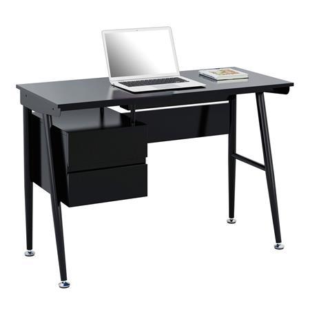 computerschreibtisch schreibtisch hochglanz schwarz ct 3541 2188. Black Bedroom Furniture Sets. Home Design Ideas