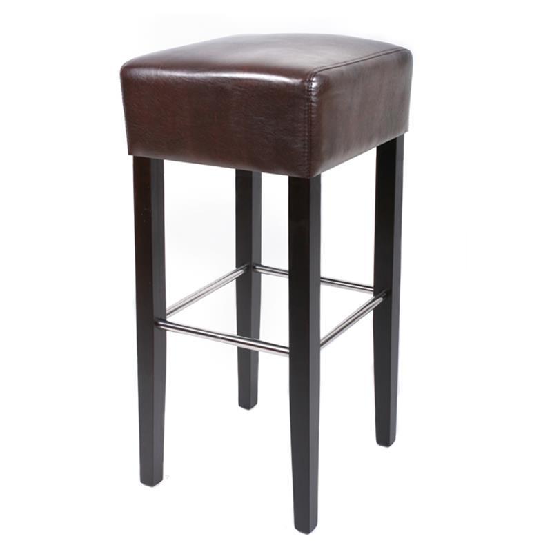 barhocker bistrohocker massiv buche wenge braun bar 02 wbr 6. Black Bedroom Furniture Sets. Home Design Ideas