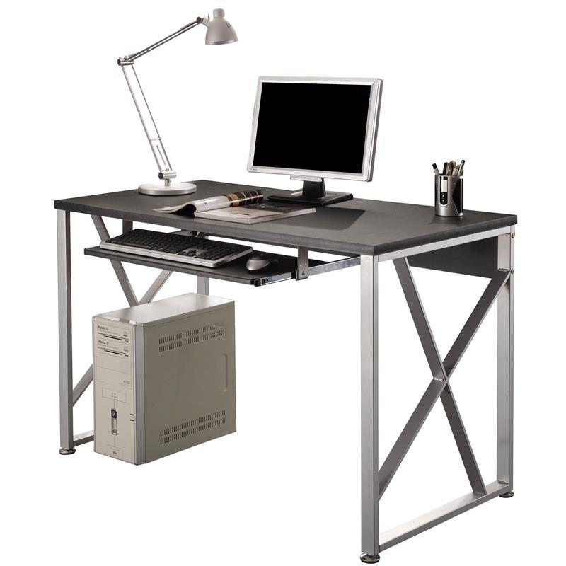 sixbros computertisch tisch b rotisch schreibtisch schwarz s 349 110 ebay. Black Bedroom Furniture Sets. Home Design Ideas
