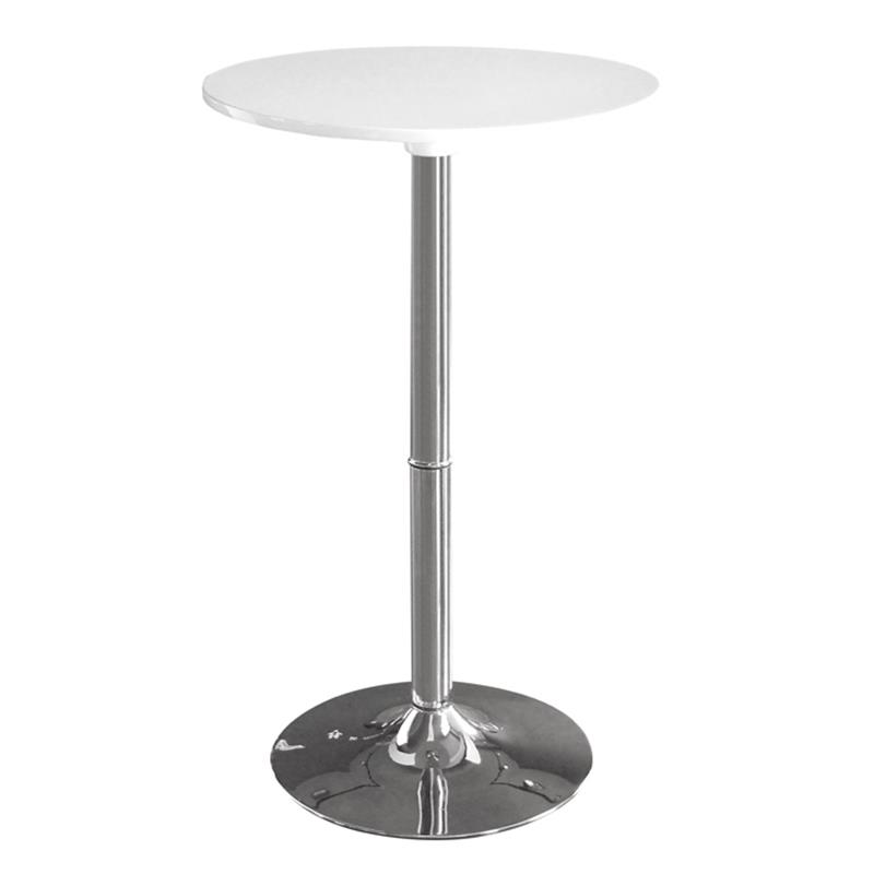 Tavolo tavolino alto bianco m 80402 h 161 - Tavolo alto bar ...