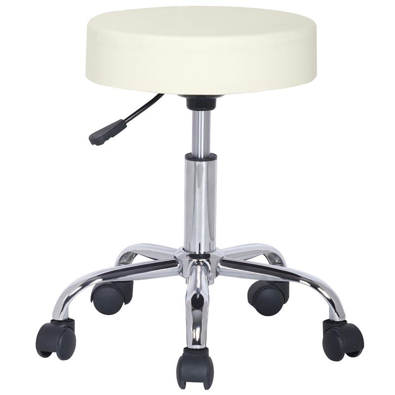 Swivel Stool Working Stool Ivory White M-95027/193