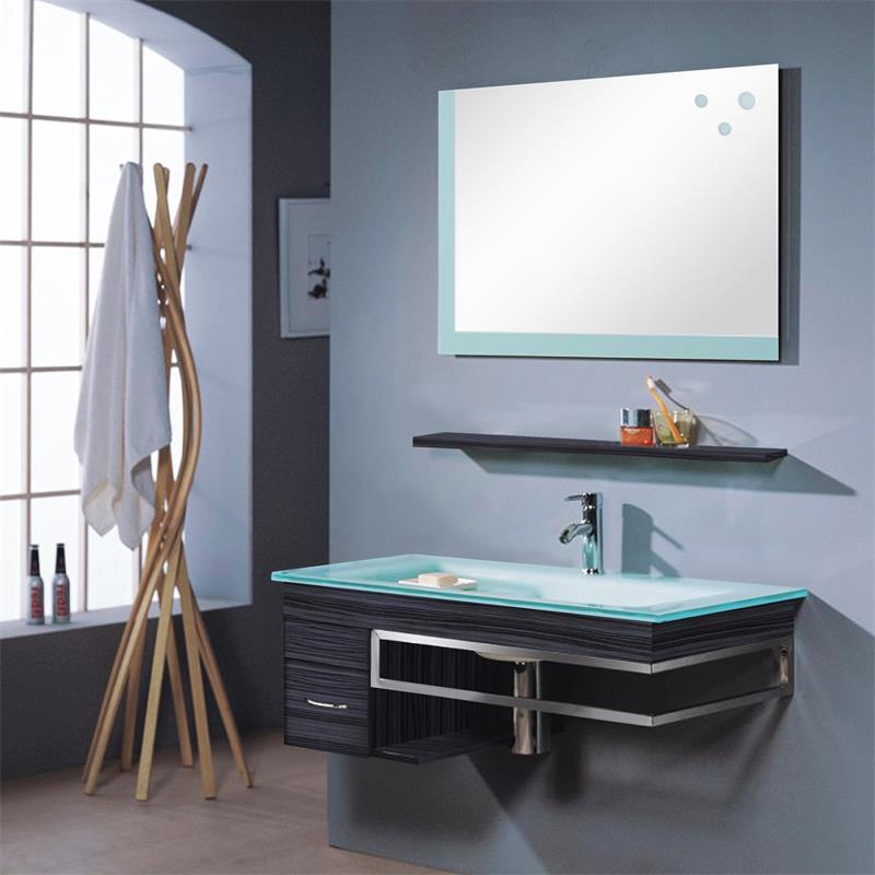 Badezimmermöbel  Badezimmermöbel Set Bari - Badmöbel günstig kaufen bei sixbros