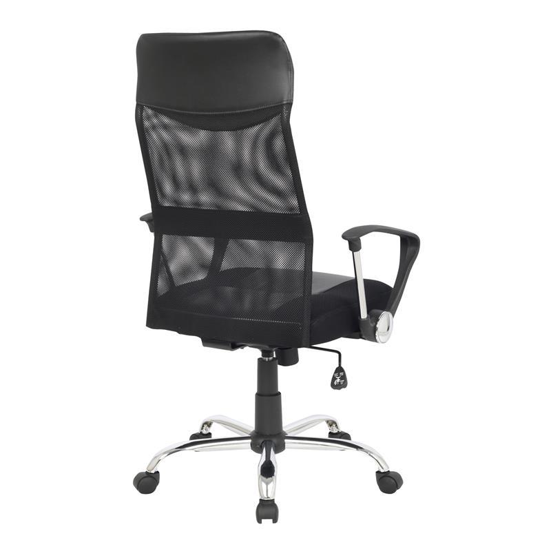 Chaise de bureau pivotant Fauteuil de bureau noir 139PM/1319