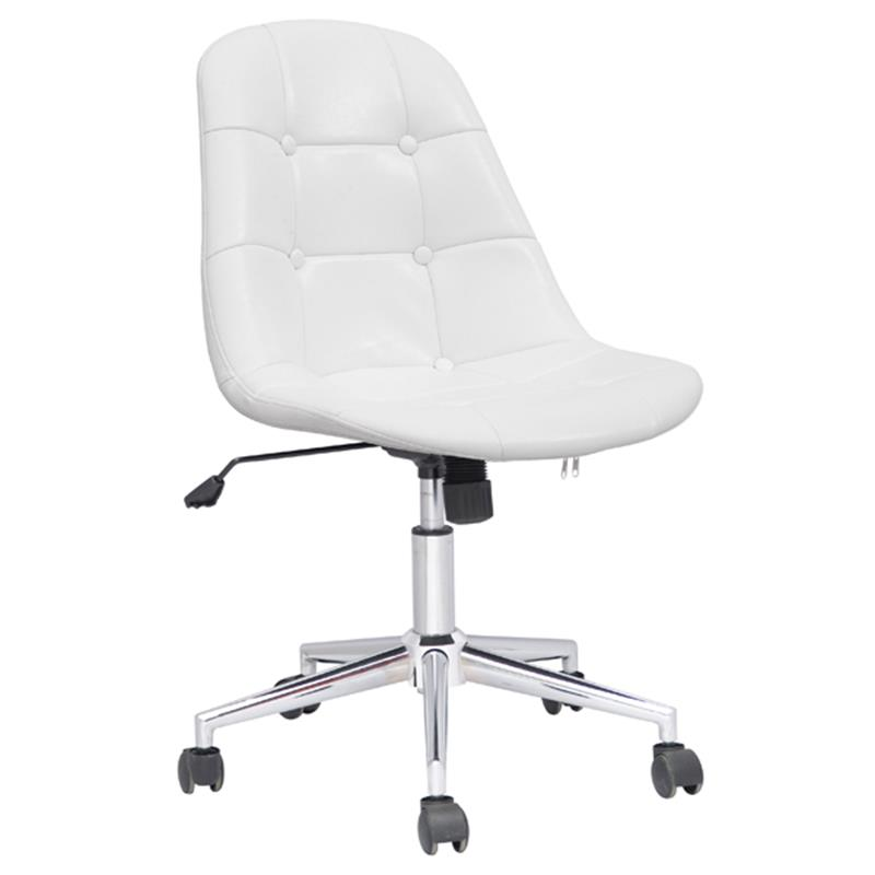 design sgabello girevole sgabello da lavoro sedia ufficio bianco m 65314 1 726. Black Bedroom Furniture Sets. Home Design Ideas