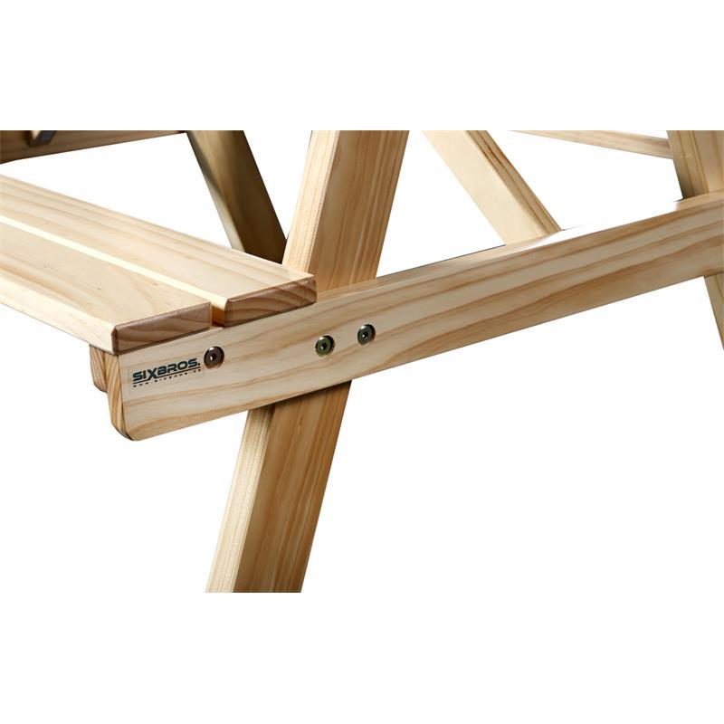 Mesa para niños de picnic conjunto de muebles para jardín de madera ...