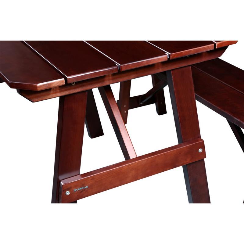 Mesa para niños de picnic conjunto de muebles para jardín de ...
