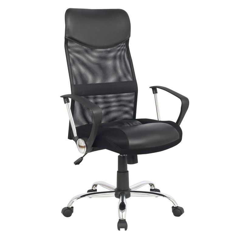 935 De Bureau Pivotant Chaise Noir 61319 H PZukiX