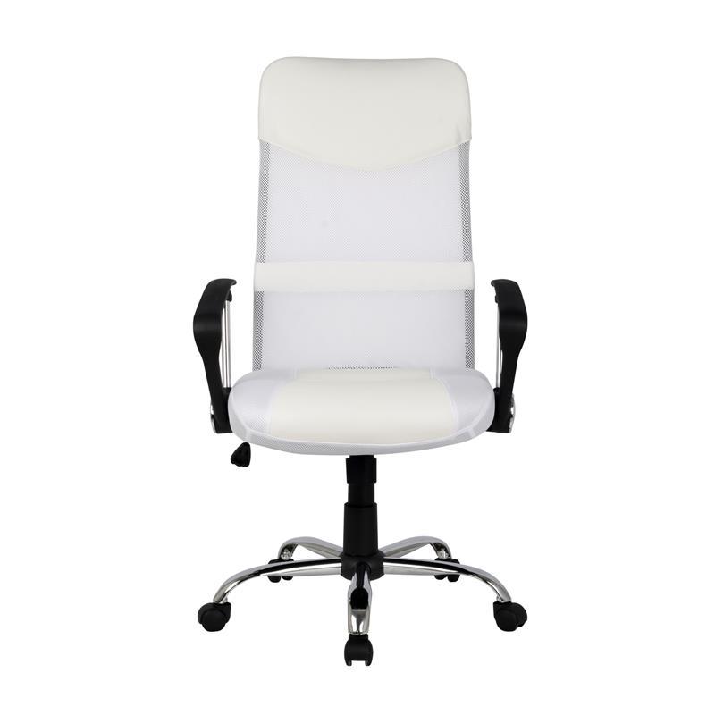 Schreibtischstuhl weiß  Chefsessel Bürostuhl Drehstuhl Schreibtischstuhl Weiß H-935-6/1320