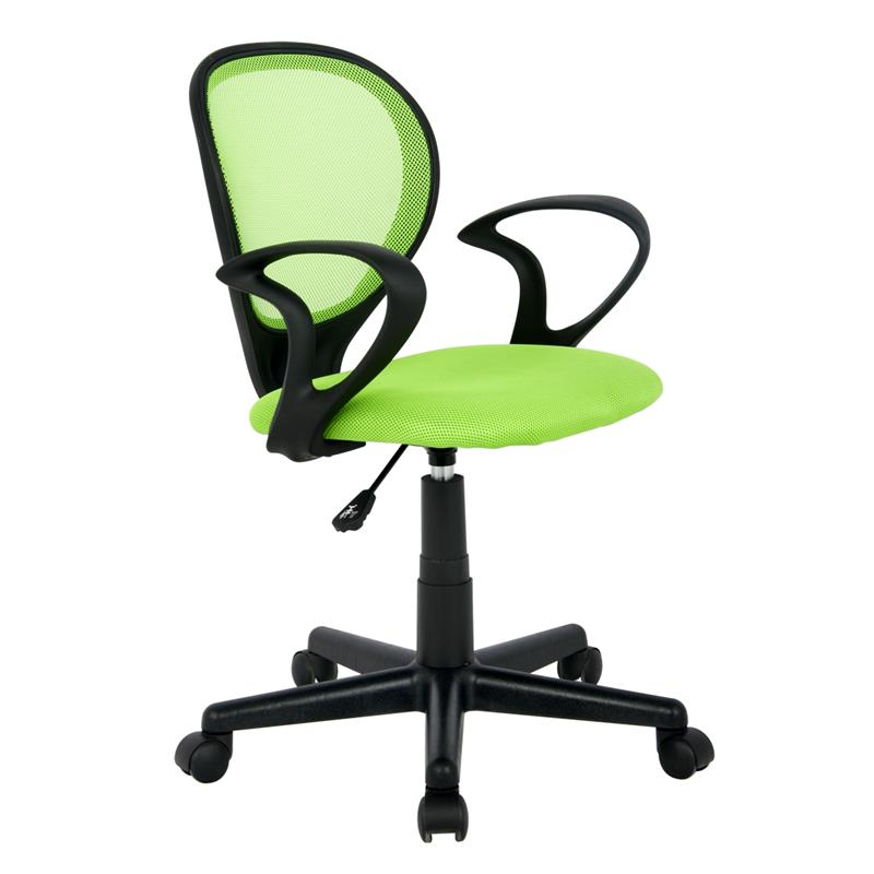 office chair green black h 2408f 1408