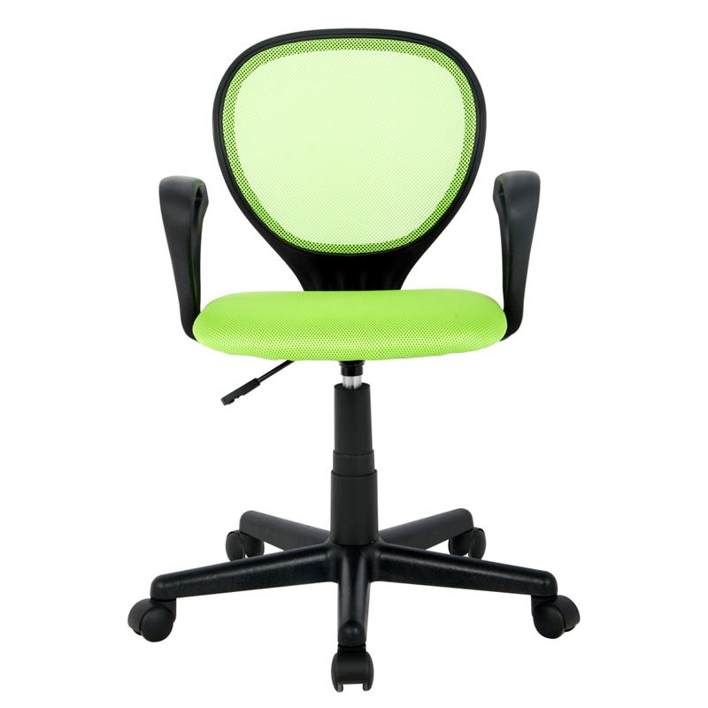 Bürostuhl Schreibtischstuhl Grün/Schwarz H-2408F/1408