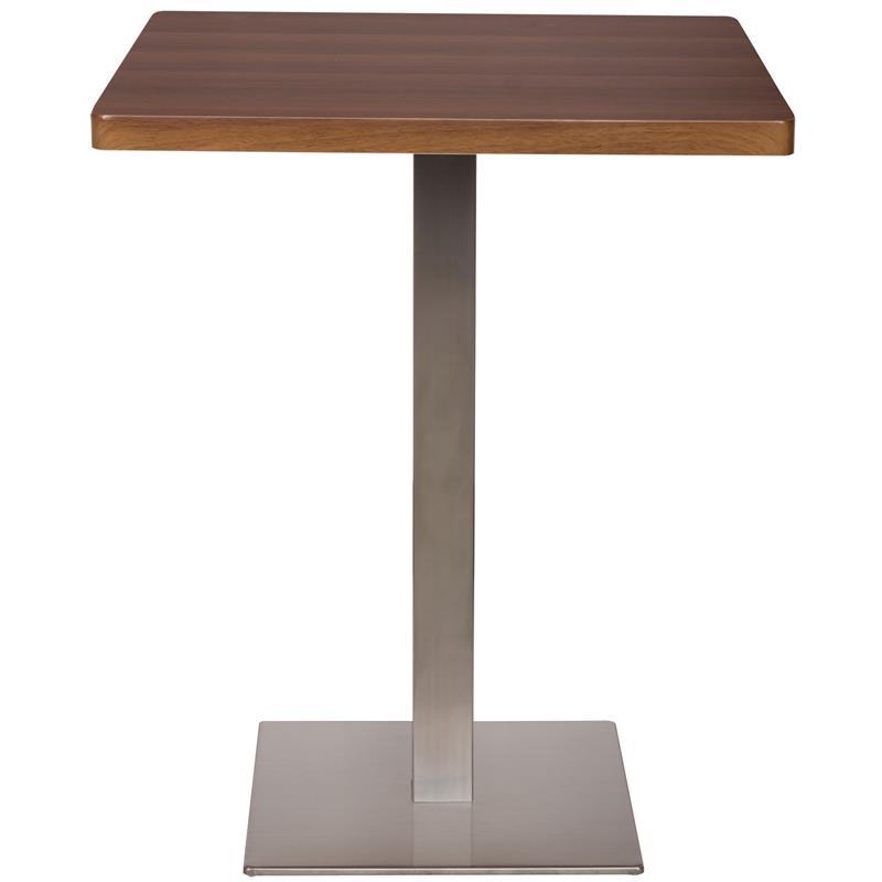 Bartisch Bistrotisch.Bartisch Bistrotisch Tisch Nussbaum Holzoptik 60x60x75 M Bt60 1431