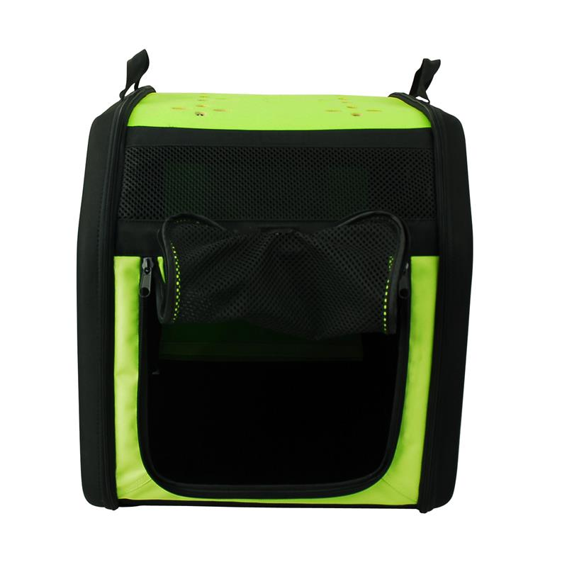 Carrying bag Pet carrier Carrying case cats & dogs green/black different sizes 1253/1502
