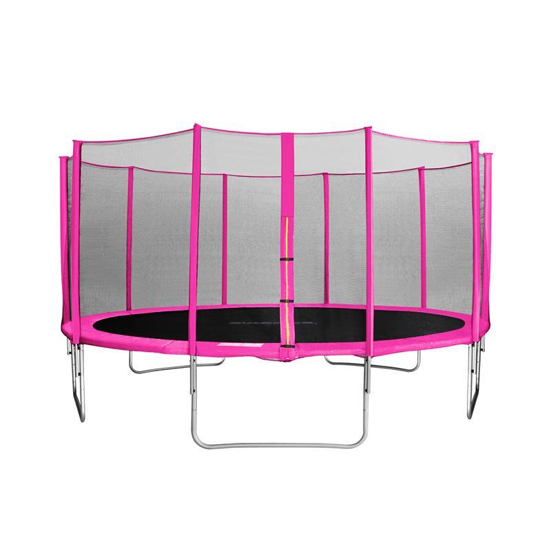 Sixjump 4 60 m gartentrampolin pink tp460 1785 for 60 1785