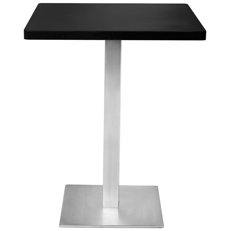 Tavolo da bar tavolo alto nero 60x60x75 m bt60 1854 - Tavolo alto bar ...