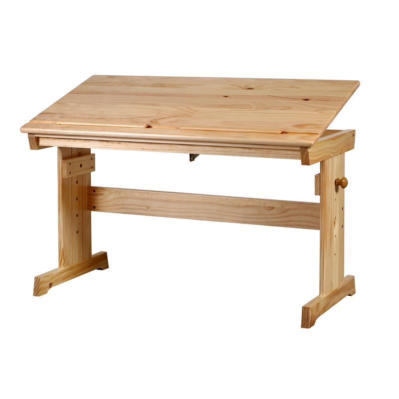 Mesa escritorio infantil pino macizo natural rd00177 1 1874 for Mesa escritorio infantil