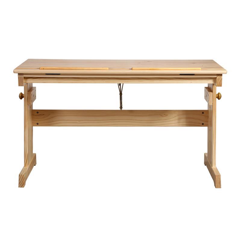 Mesa escritorio infantil pino macizo natural rd00177 1 1874 - Mesa escritorio infantil ...