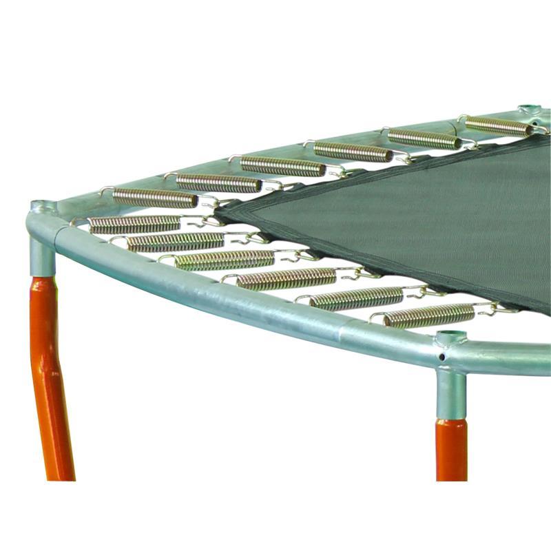 SixJump 2,10 M Trampoline de jardin Orange Filet de sécurité ...