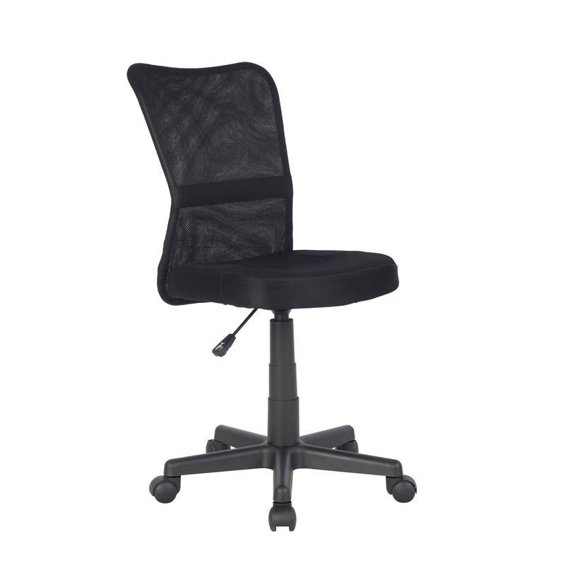 Bürostuhl Drehstuhl Schreibtischstuhl Schwarz H-298F/2064
