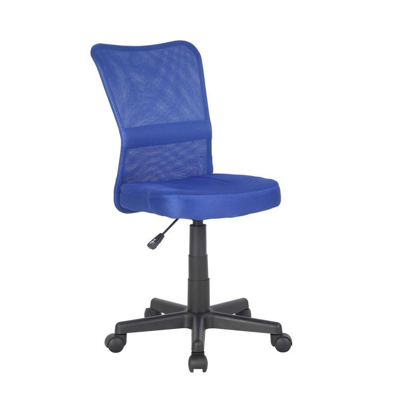 Bürostuhl Drehstuhl Schreibtischstuhl Blau H-298F/2065