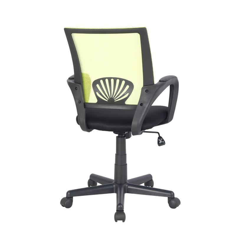 Sedia Ufficio Sedia Girevole Verde Nero Hlc 0551 2068