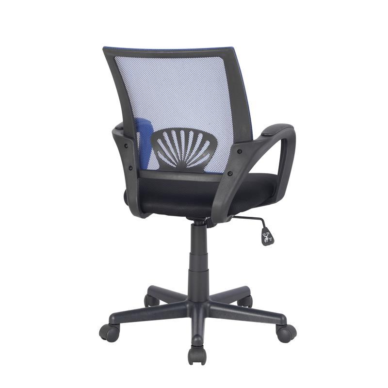 sixbros b rostuhl schreibtischstuhl drehstuhl blau schwarz hlc 0551 2071 ebay. Black Bedroom Furniture Sets. Home Design Ideas