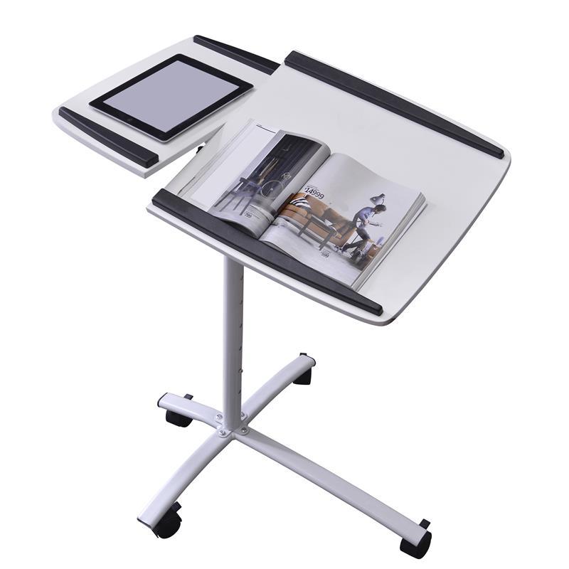 Tavolino porta pc notebook bianco b 001n 2078 - Tavolino porta pc portatile ...