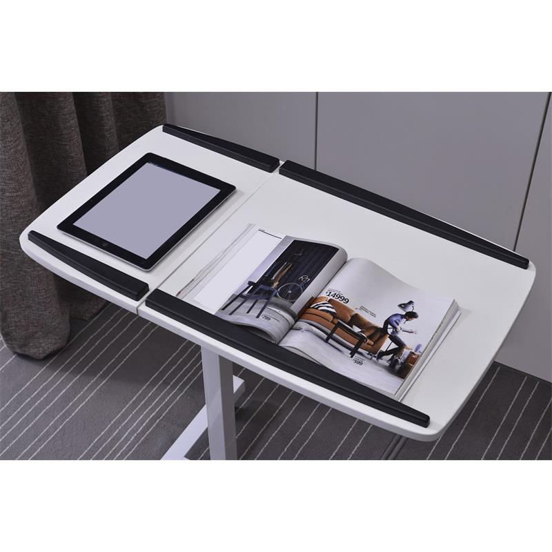 Tavolino porta notebook bianco lt 001a 2084 - Porta computer bianco ...